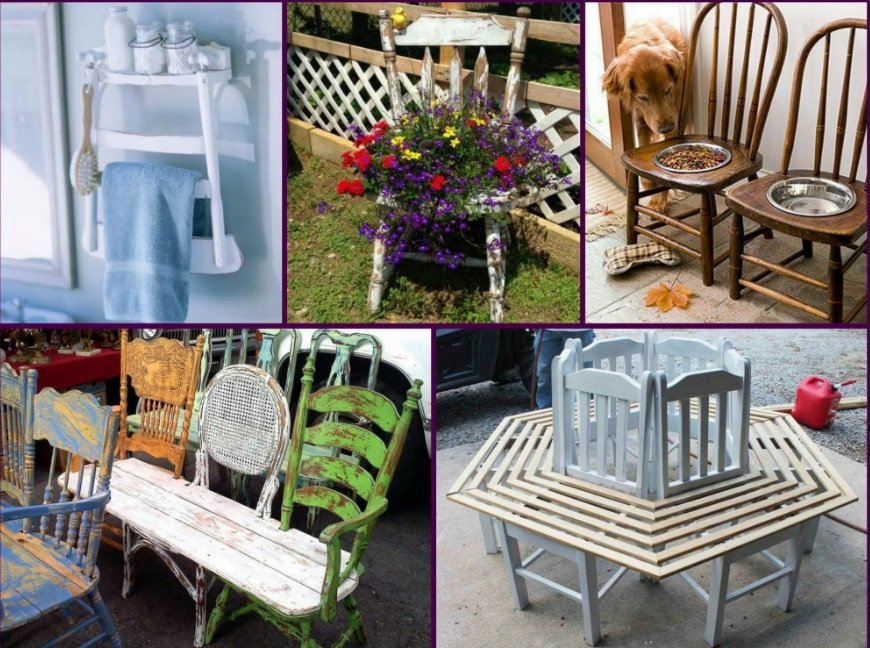 Recycle old furniture